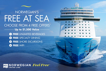 norwegian cruise line ad